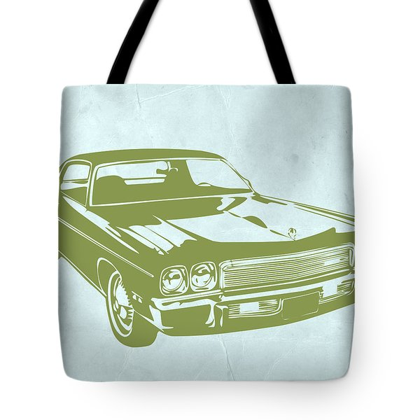 My Favorite Car 5 Tote Bag by Naxart Studio