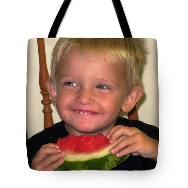 My First Watermelon Tote Bag by Dale   Ford