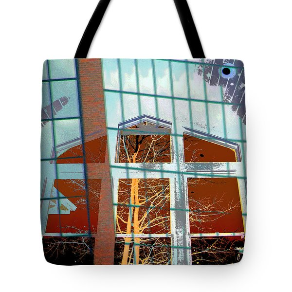 My Idea Of A Cathedral Tote Bag by Lenore Senior