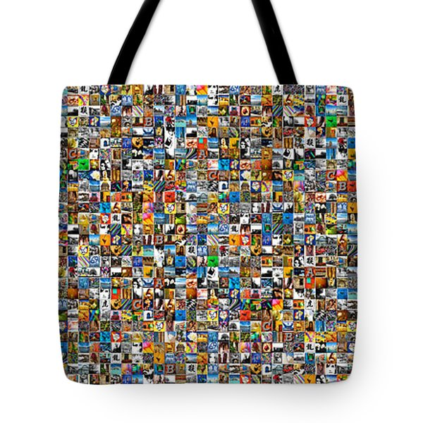 My Mosaic Tote Bag by Mauro Celotti