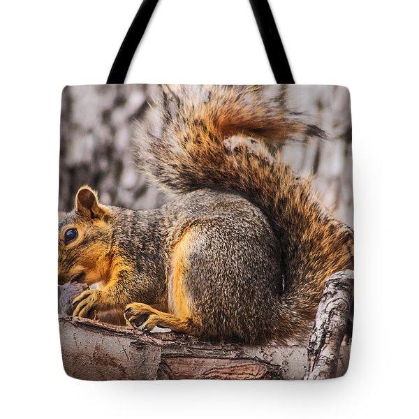 My Nut Tote Bag by Robert Bales