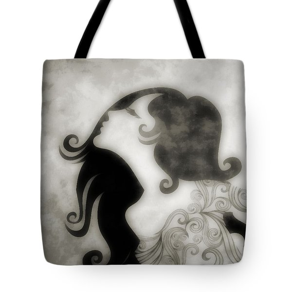 My Prince Will Come For Me 3 Tote Bag by Angelina Vick