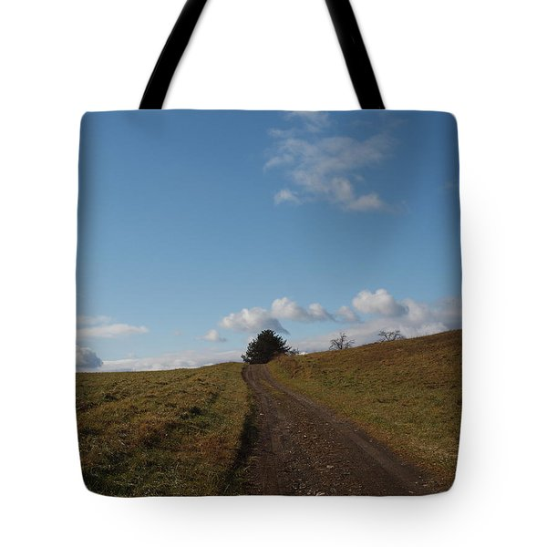 My Road Tote Bag by Robert Margetts