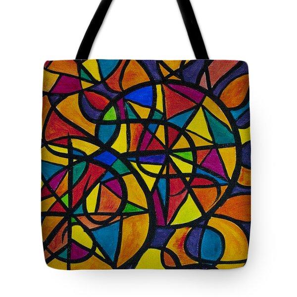 My Three Suns Tote Bag by Jaime Haney