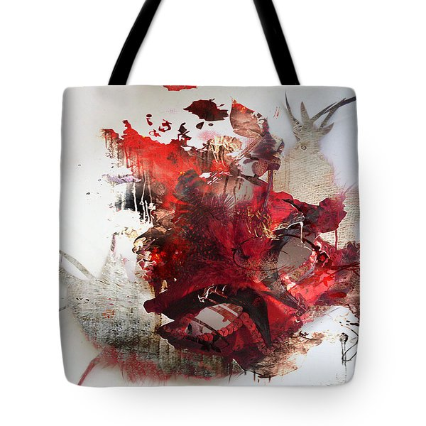 Mystery Of The Mask Tote Bag by Jerry Cordeiro