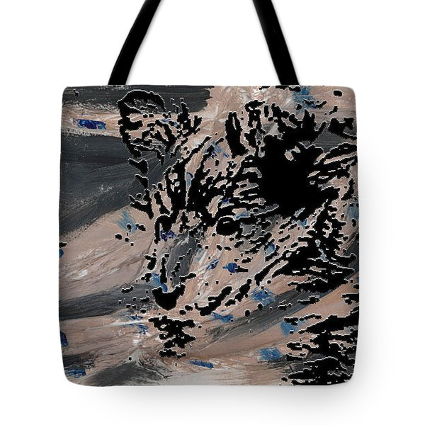 Mystique Print Tote Bag by Vicky  Hutton