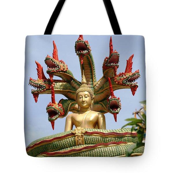 Naga Tote Bag by Adrian Evans
