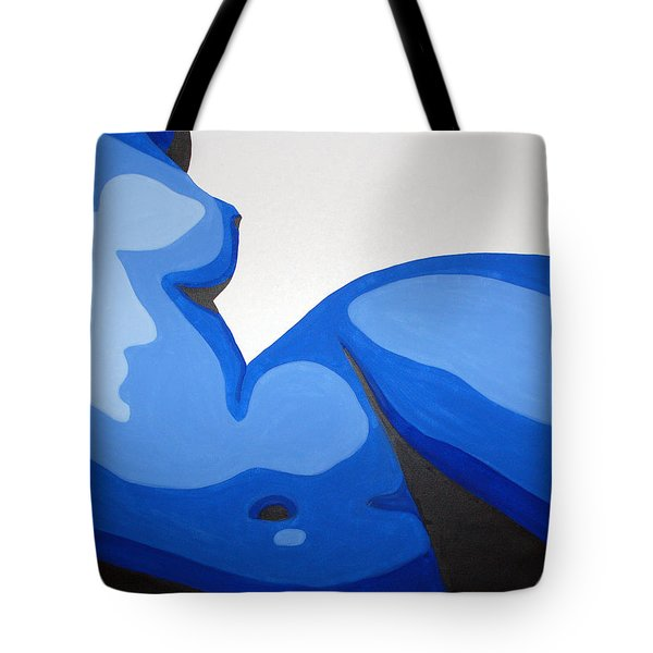 Naked Woman Tote Bag by Michael Ringwalt