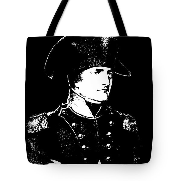 Napoleon Bonaparte Tote Bag by War Is Hell Store