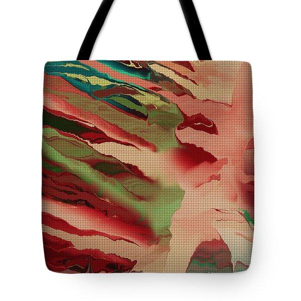 Native Abstract Weave Tote Bag by Deborah Benoit