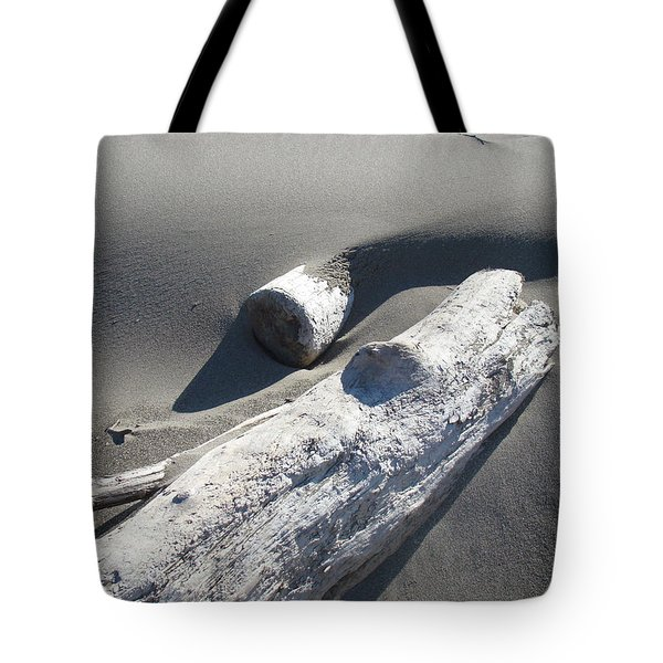 Nature Coastal art prints Driftwood Sand Dunes Tote Bag by Baslee Troutman