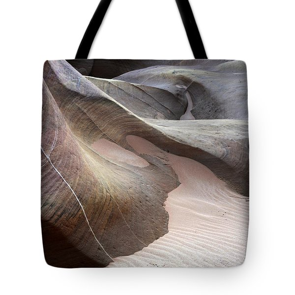 Nature's Artistry In Stone Tote Bag by Bob Christopher