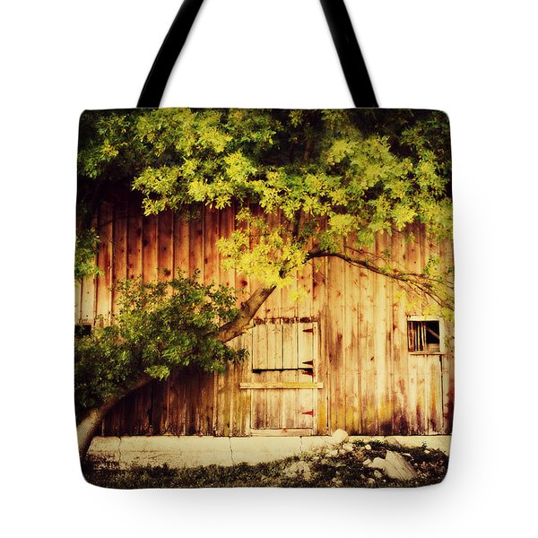 Natures Awning Tote Bag by Julie Hamilton