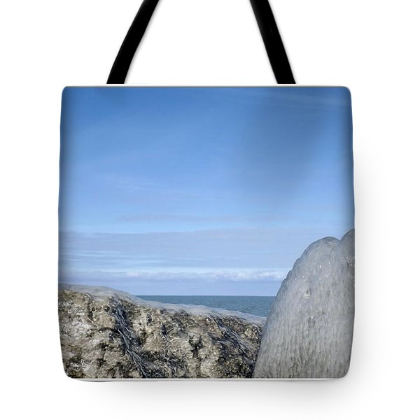 Natures Ice Sculptures 10 Tote Bag by Rose Santuci-Sofranko