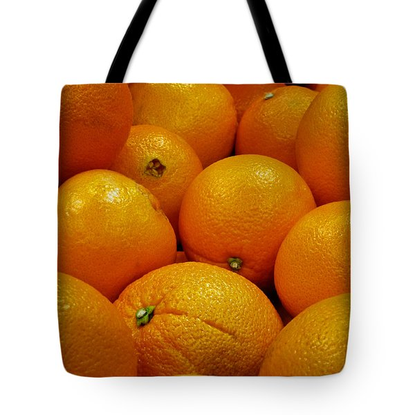 Navel Oranges Tote Bag by Methune Hively