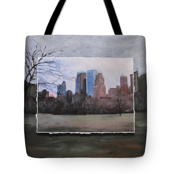Ncy Central Park Layered Tote Bag by Anita Burgermeister