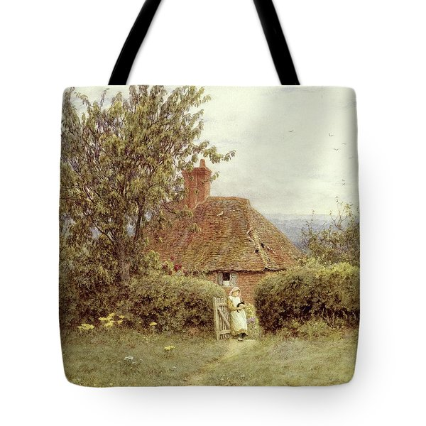 Near Haslemere Tote Bag by Helen Allingham