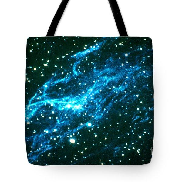 Nebulae In Cygnus Tote Bag by Science Source