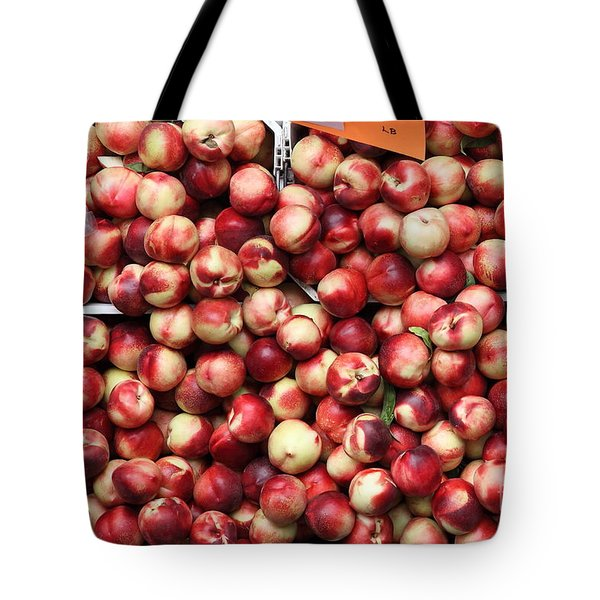 Nectarines - 5d17905 Tote Bag by Wingsdomain Art and Photography