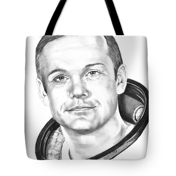 Neil Armstrong Tote Bag by Murphy Elliott