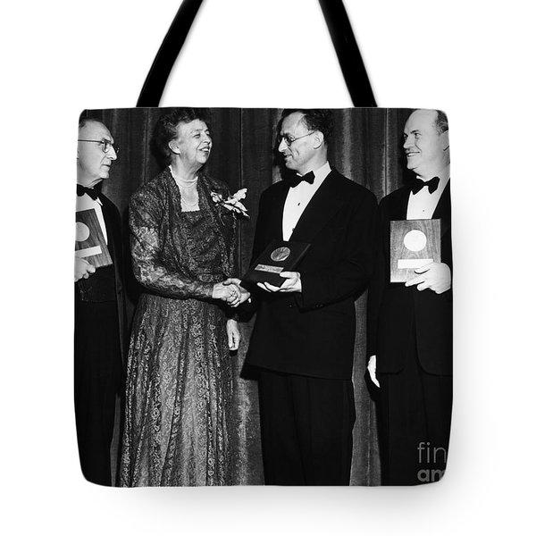 Nelson Algren (1909-1981) Tote Bag by Granger