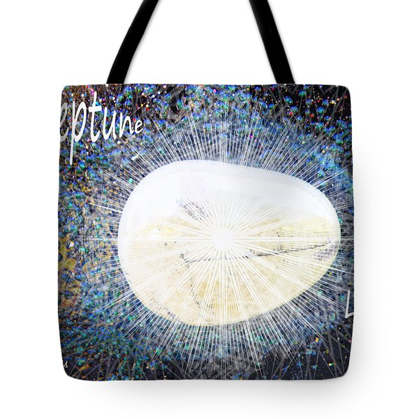 Neptume in Libra Tote Bag by Augusta Stylianou