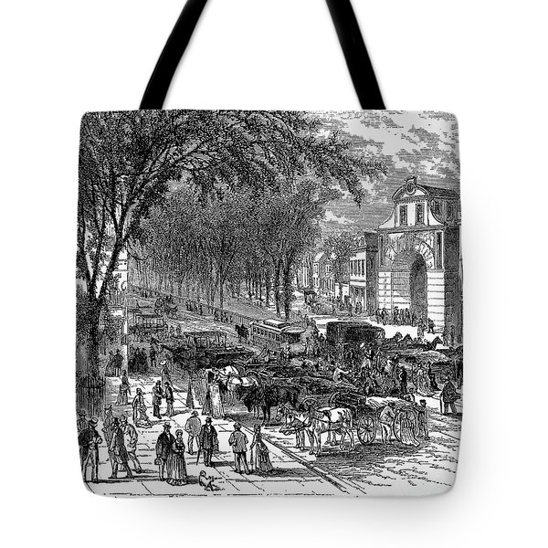 New Jersey: Newark, 1876 Tote Bag by Granger