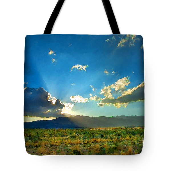 New Mexico Desert Tote Bag by Betty LaRue