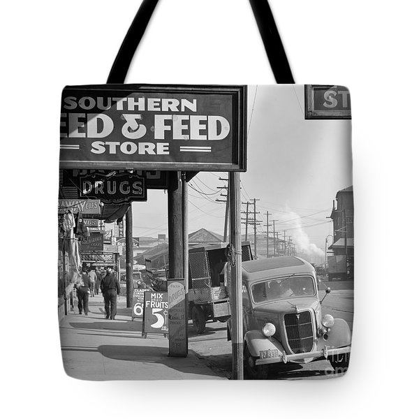 New Orleans: Waterfront, 1935 Tote Bag by Granger