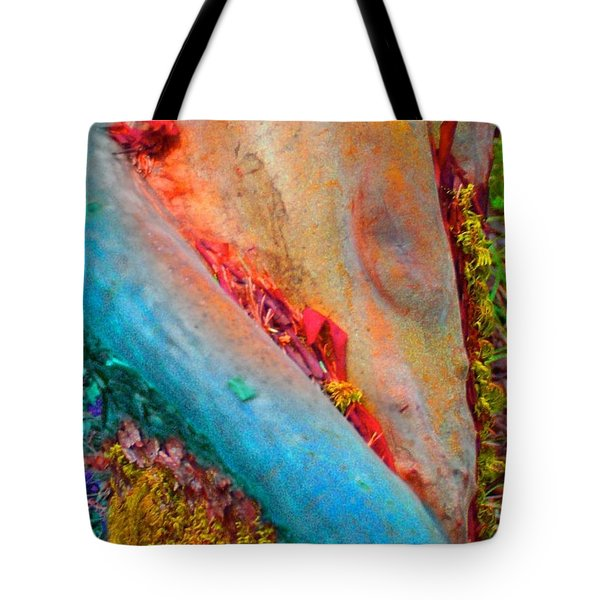Tote Bag featuring the digital art New Way by Richard Laeton