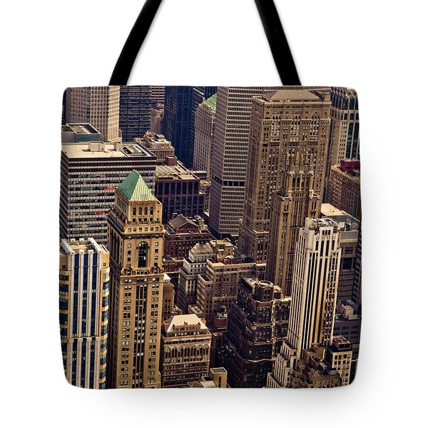 New York City Urban Landscape Tote Bag by Vivienne Gucwa