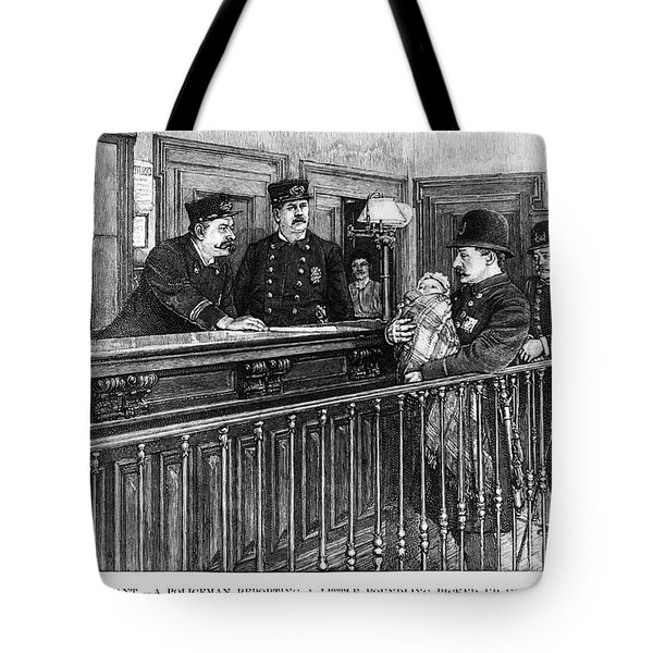 New York: Police Station Tote Bag by Granger