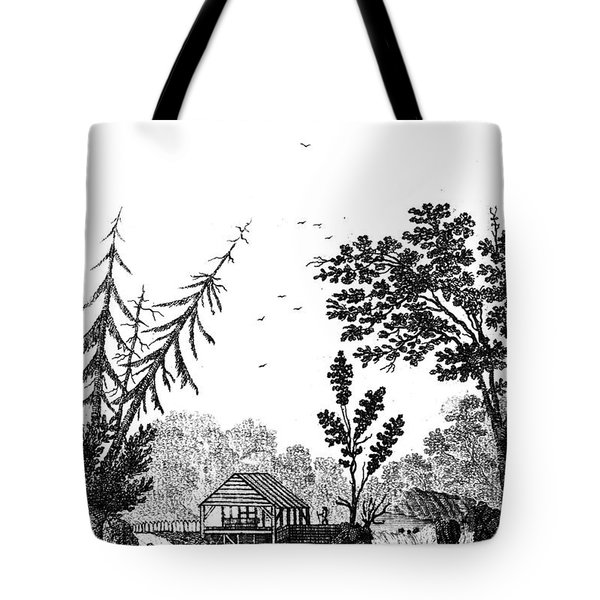 New York: Saw Mill, 1792 Tote Bag by Granger