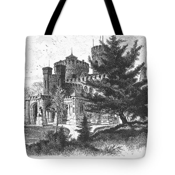 New York State: Castle Tote Bag by Granger