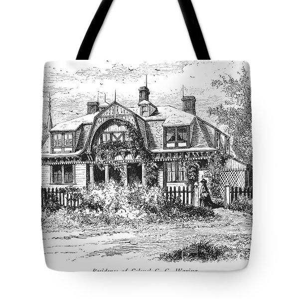 Newport: Villa, C1876 Tote Bag by Granger