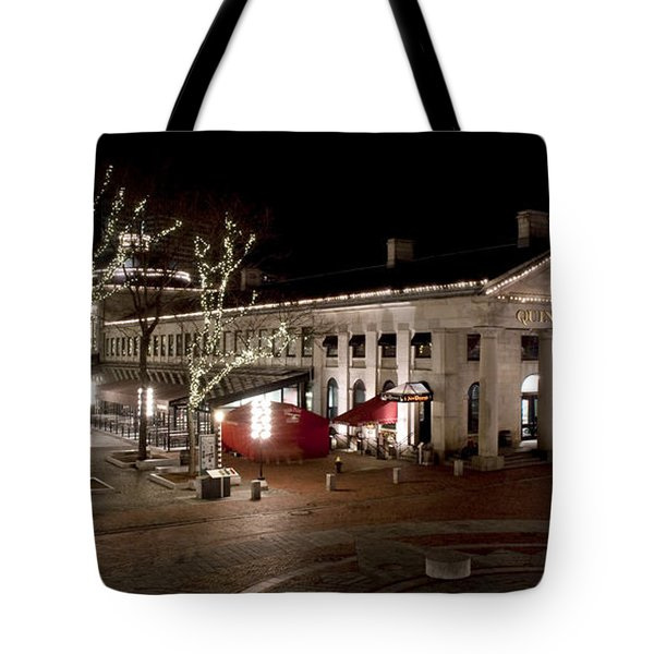 Night Market Tote Bag by Greg Fortier
