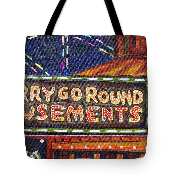 Night Merry's Tote Bag by Patricia Arroyo