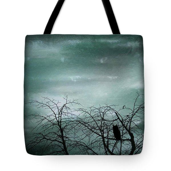 Night Owl Tote Bag by Nomad Art And  Design
