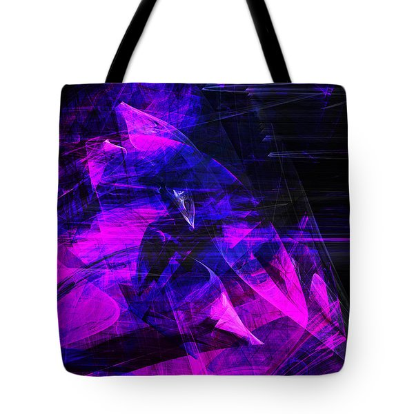 Night Rider . A120423.936.693 Tote Bag by Wingsdomain Art and Photography
