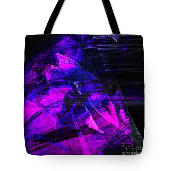 Night Rider . Square . A120423.936.693 Tote Bag by Wingsdomain Art and Photography
