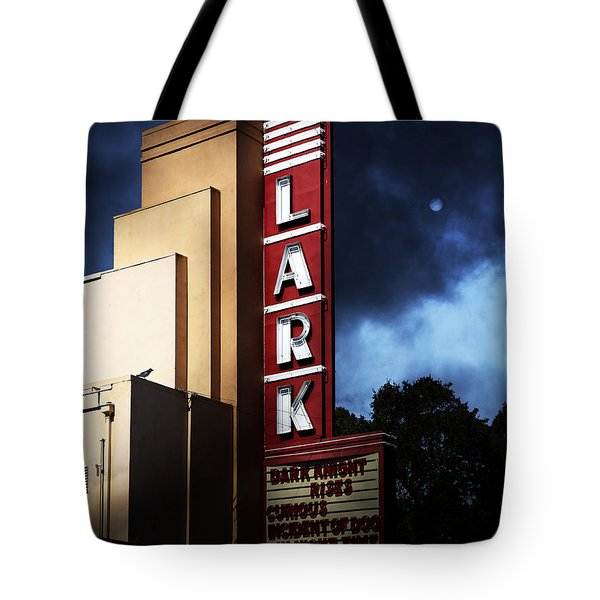 Nightfall At The Lark - Larkspur California - 5d18482 Tote Bag by Wingsdomain Art and Photography