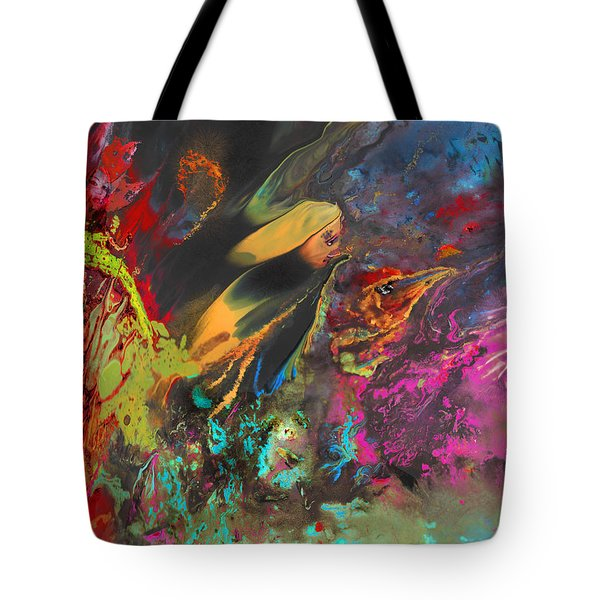 Nightmare Tote Bag by Miki De Goodaboom
