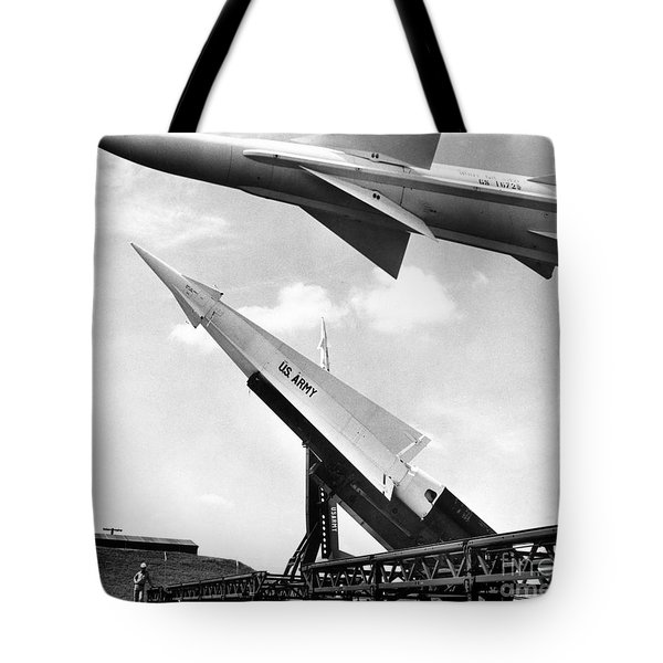 Nike Missile, C1959 Tote Bag by Granger