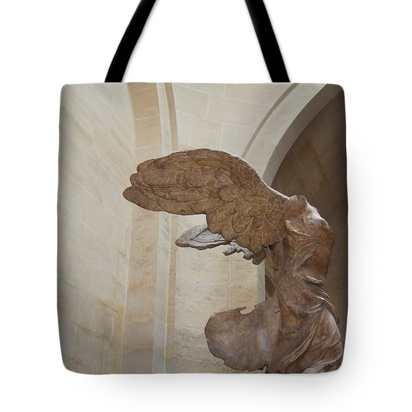 NIKE OF SAMOTHRACE Tote Bag by JAMART Photography