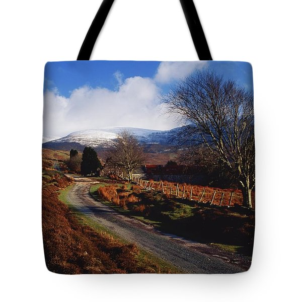Nire Valley Drive, County Waterford Tote Bag by Richard Cummins