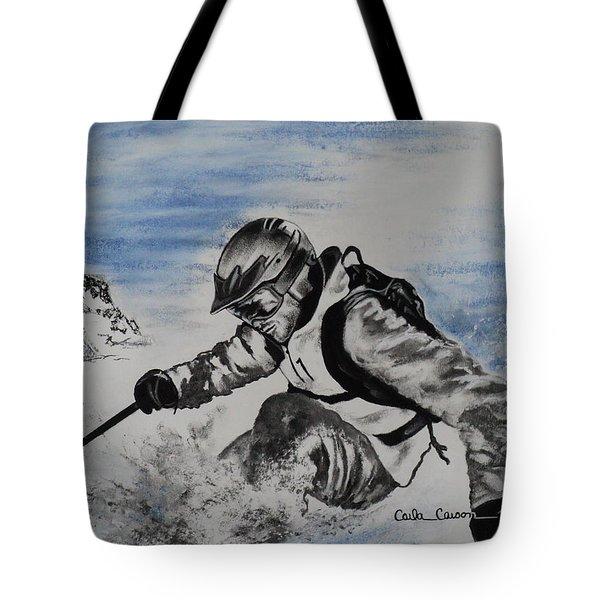 No Fear Tote Bag by Carla Carson