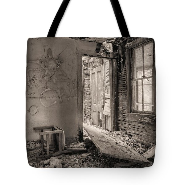 No Way Out II Tote Bag by JC Findley