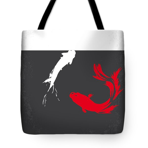 No073 My Rumble fish minimal movie poster Tote Bag by Chungkong Art