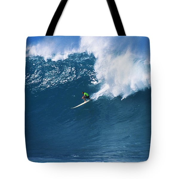 Noah At Waimea Tote Bag by Vince Cavataio - Printscapes