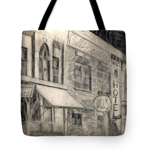 Noir Street Tote Bag by Mel Thompson